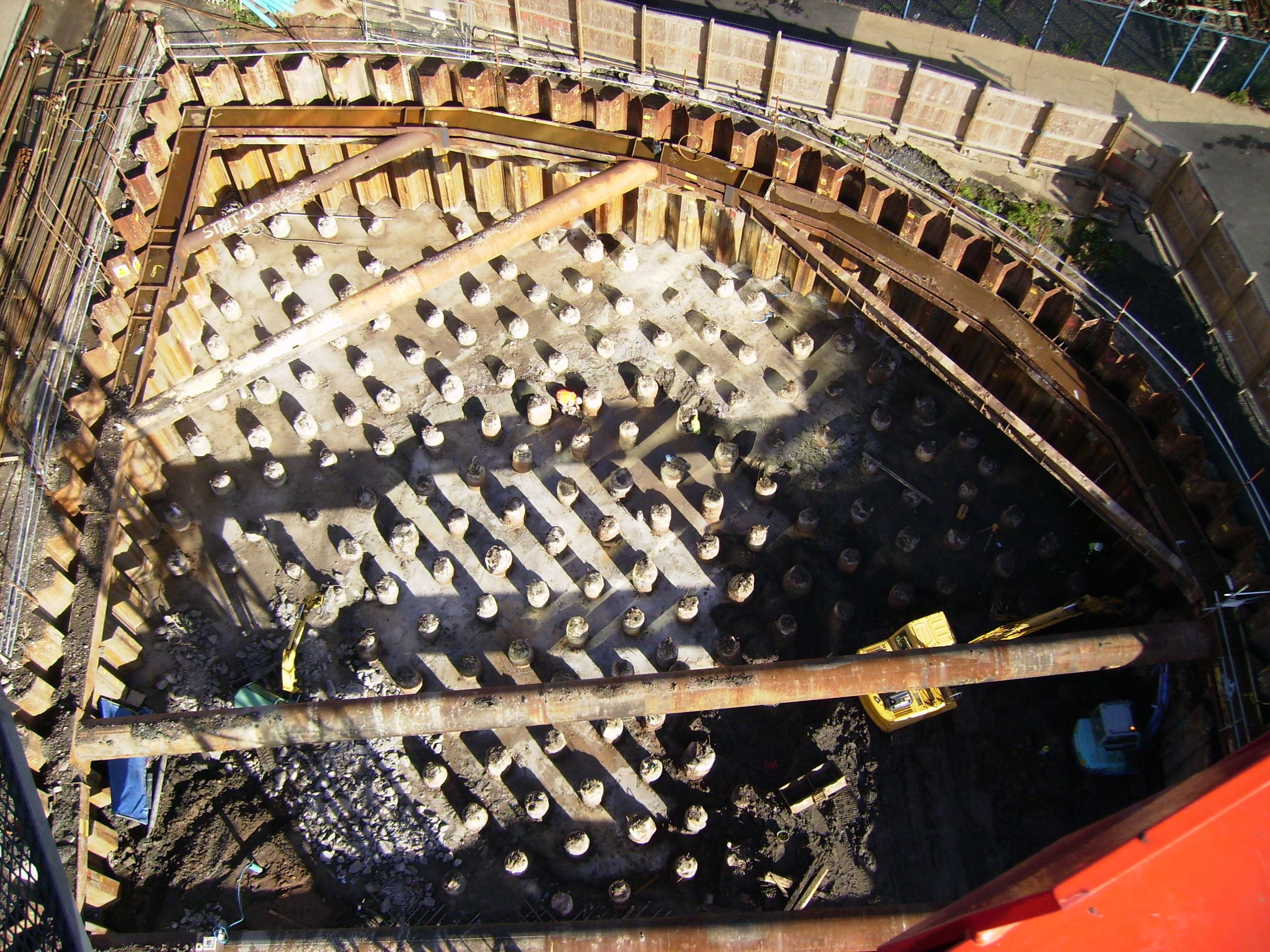 Sheet Pile Basement - Donegal Quay