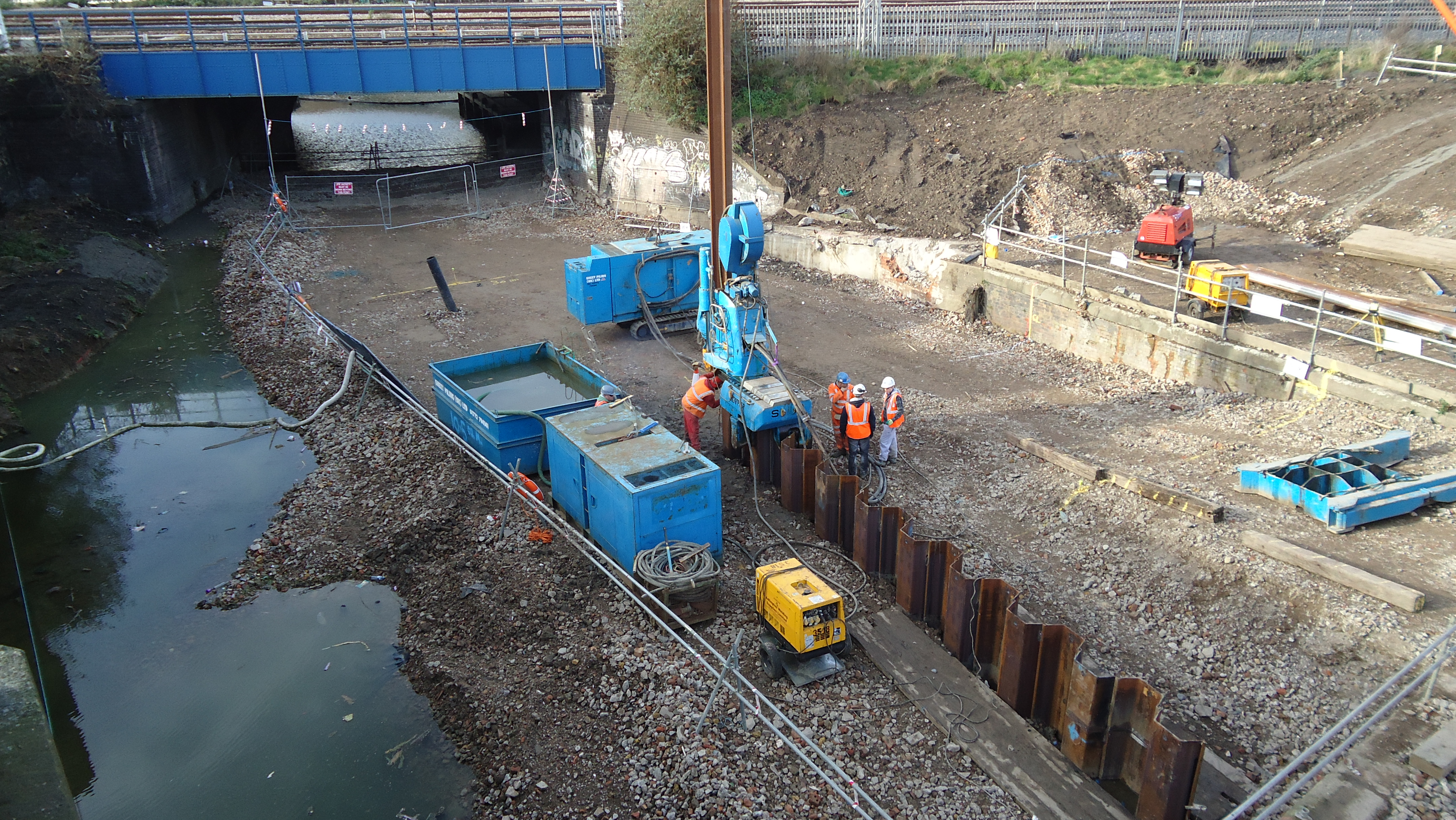Restricted Access Sheet Piling Works Archives Sheet