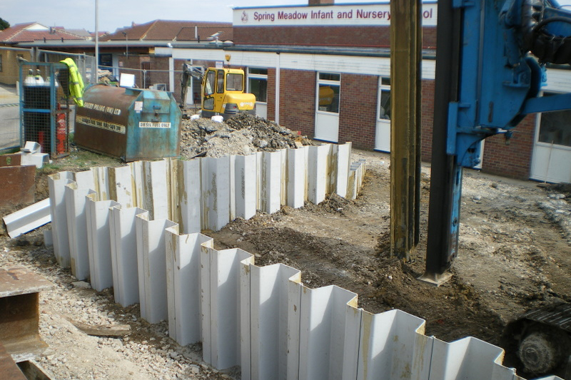 Vinyl And Plastic Sheet Piling Archives Sheet Piling Uk