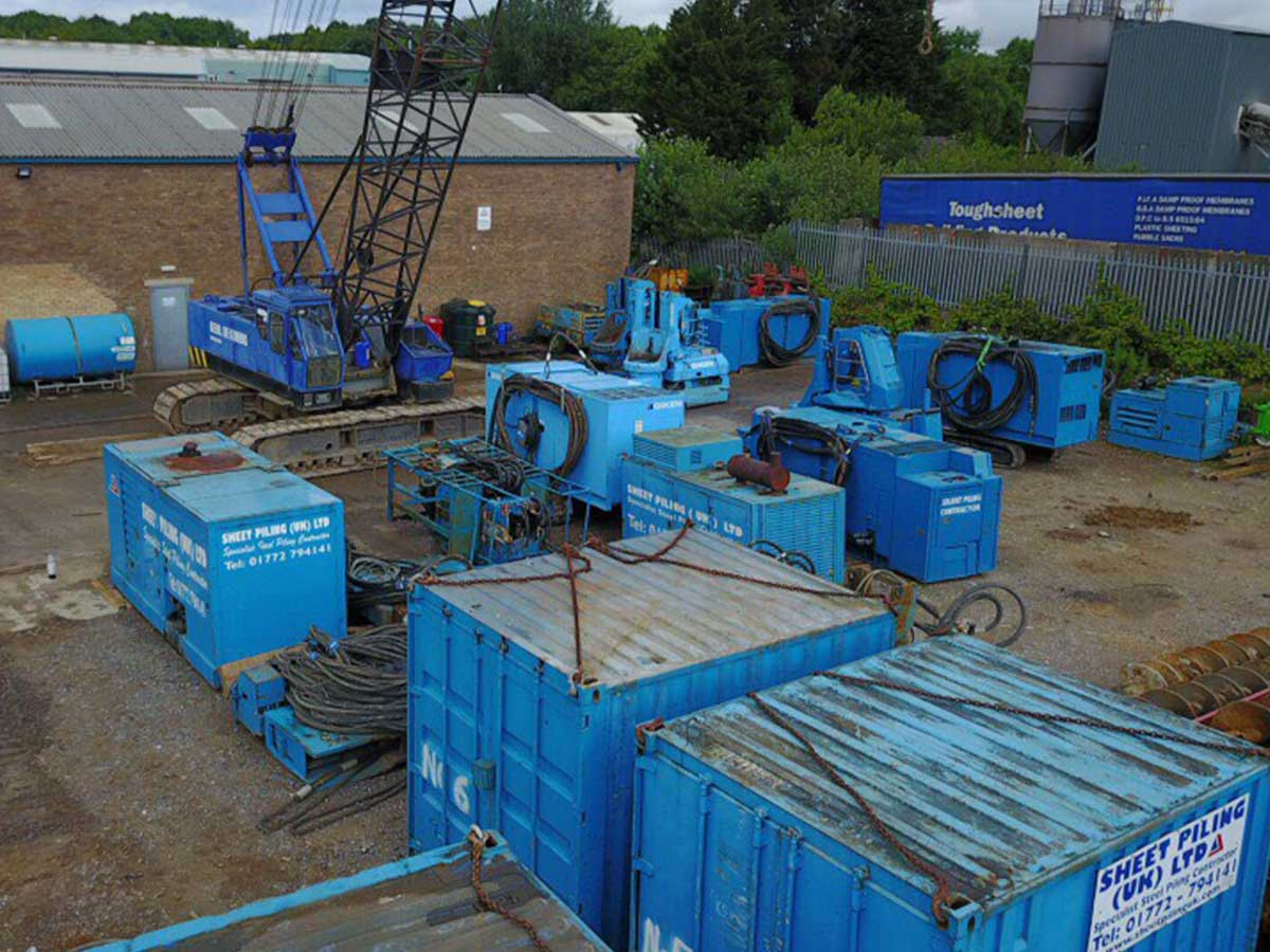 Sheet Piling (UK) Ltd Plant Preston