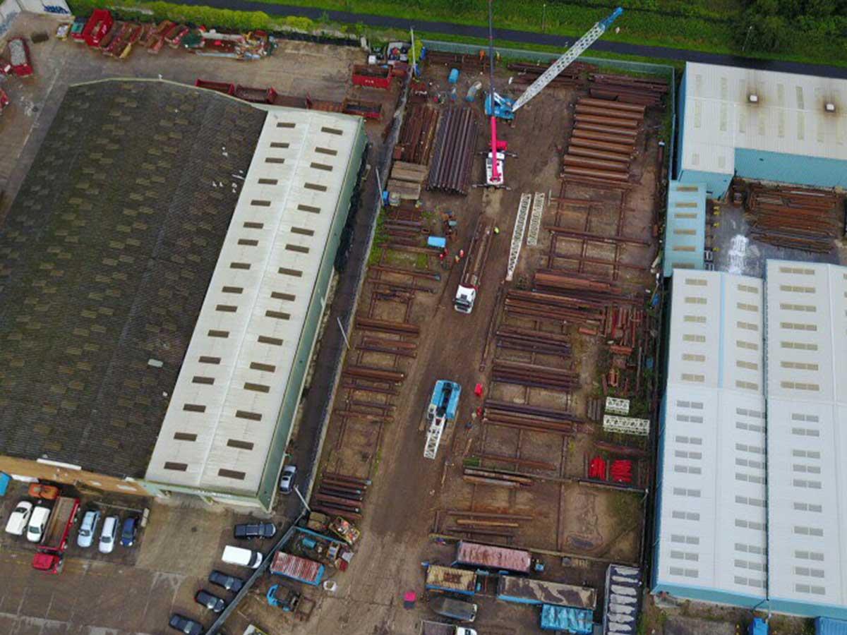Sheet Piling (UK) Ltd Sheet Pile Stock, Preston, Lancashire