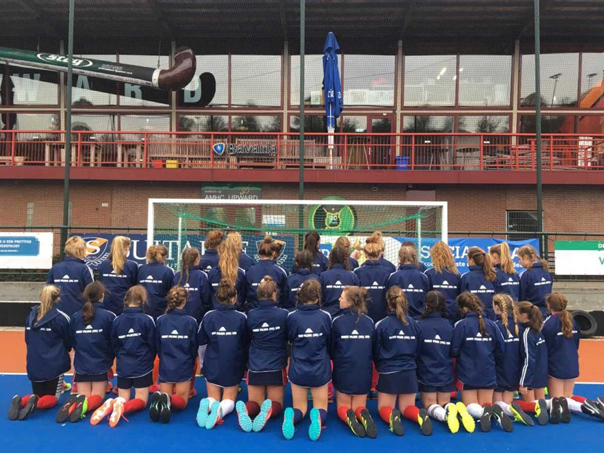 Sheet Piling (UK) Ltd Girls Hockey Team Netherlands