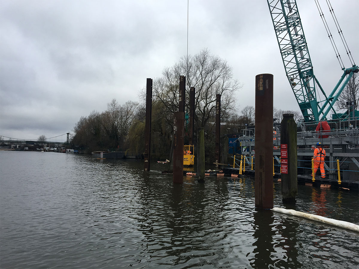 Tubular Fender Piles Sheet Piling