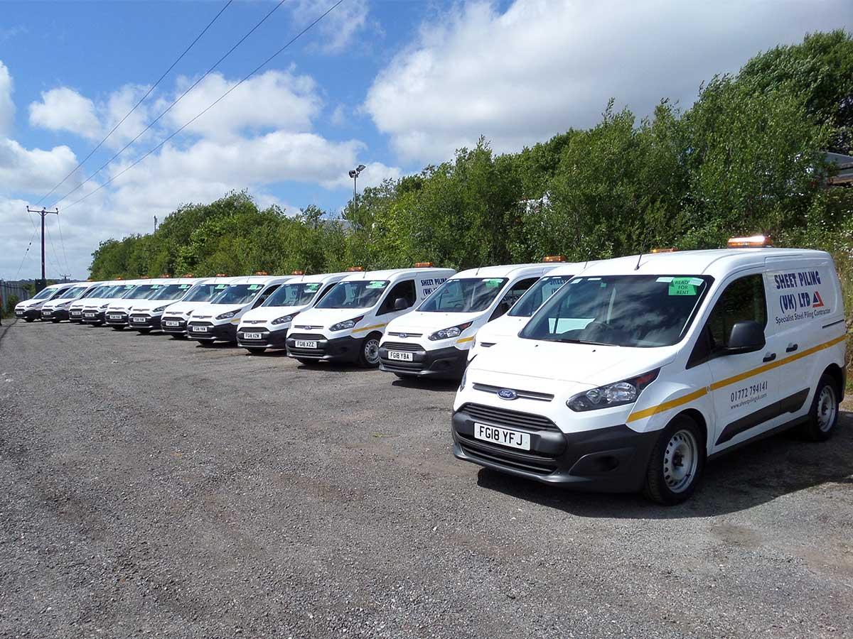 New Sheet Pile Van Fleet