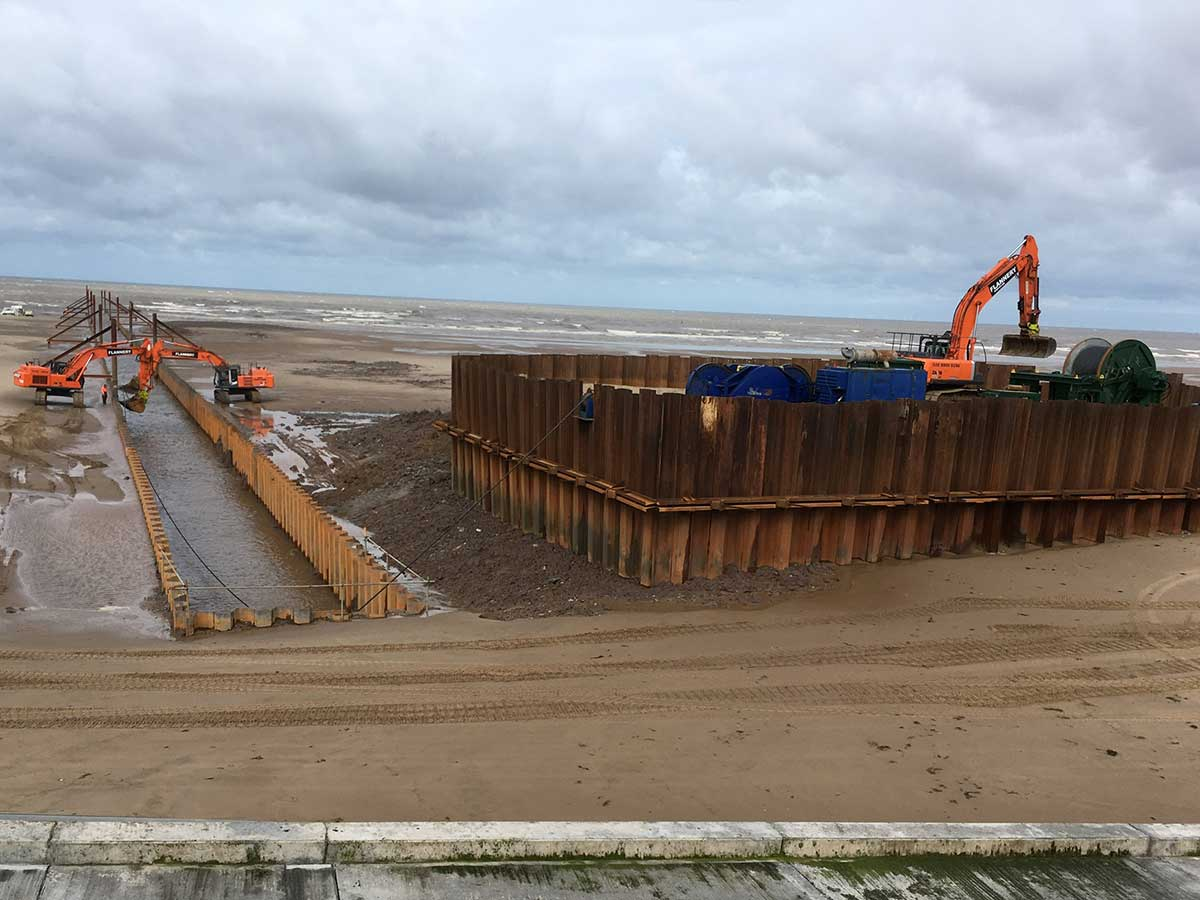Sea Outfall Cofferdam For J Murphy & Sons Limited