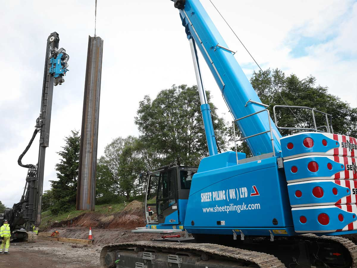 Sheet Piling Contractors - Sheet Piling (UK) Ltd