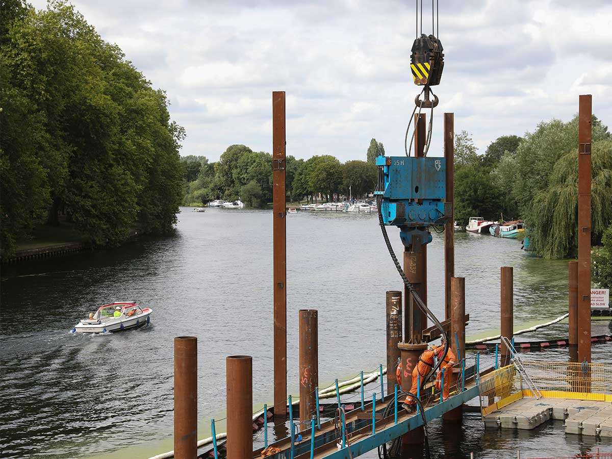 Environmental Protection Works for Thames Water