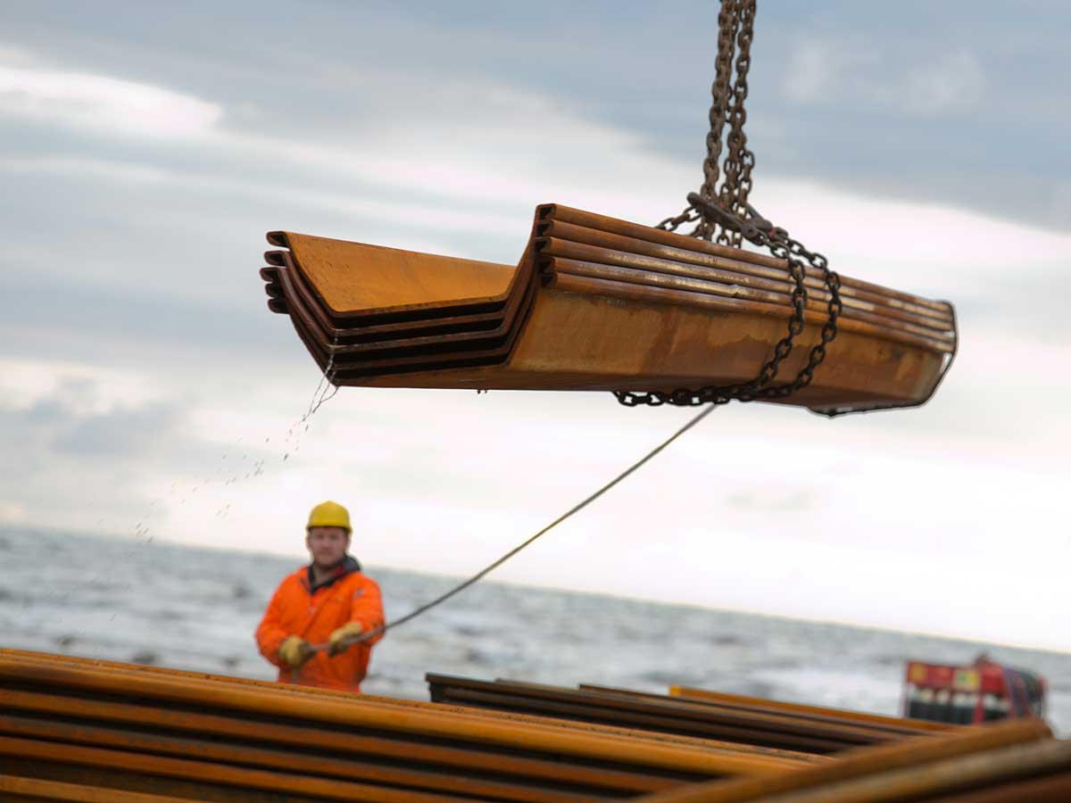 Sheet Pile Hire from Excavation Support Solutions- ESS