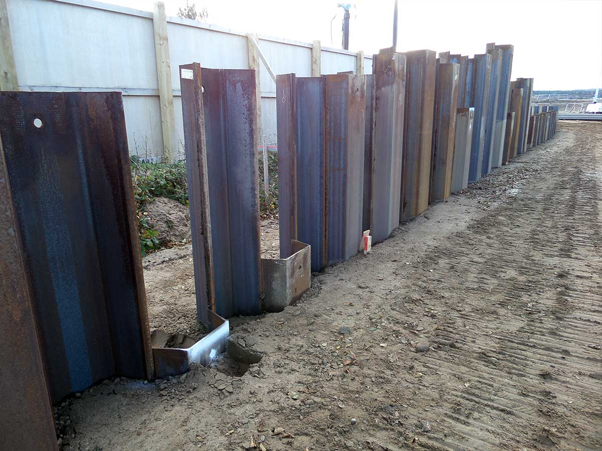 Geothermal Sheet Piles