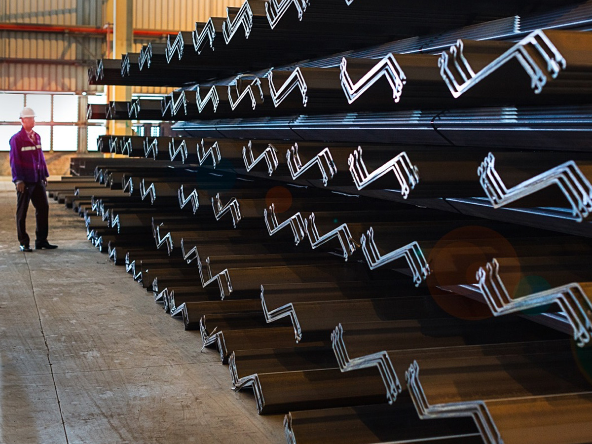 Steel Sheet Pile Quality