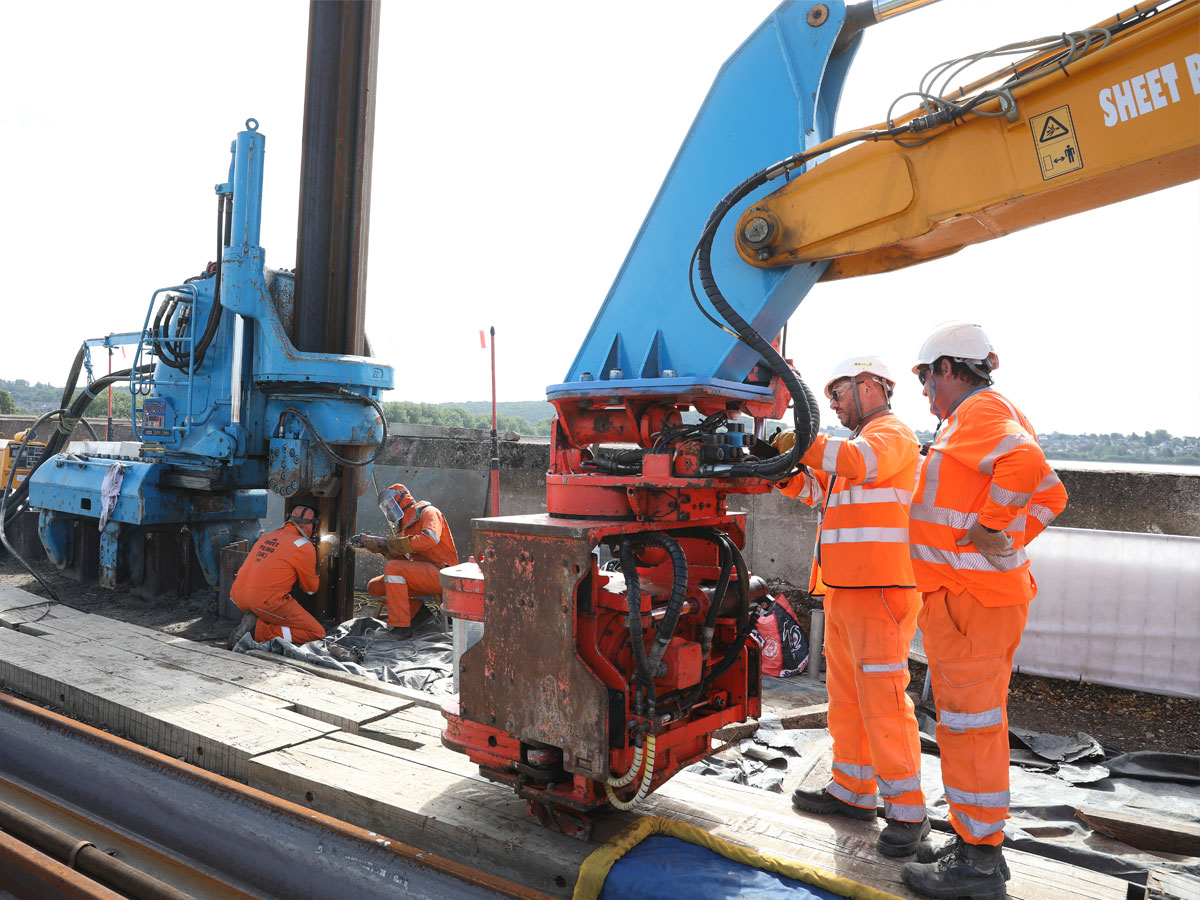 Working with Thames Water on the Cut Off Wall