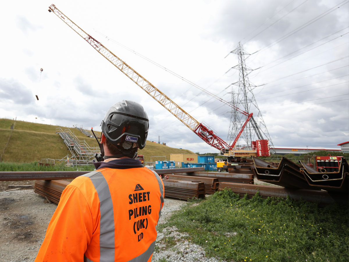 Sheet Pile Safety Precautions
