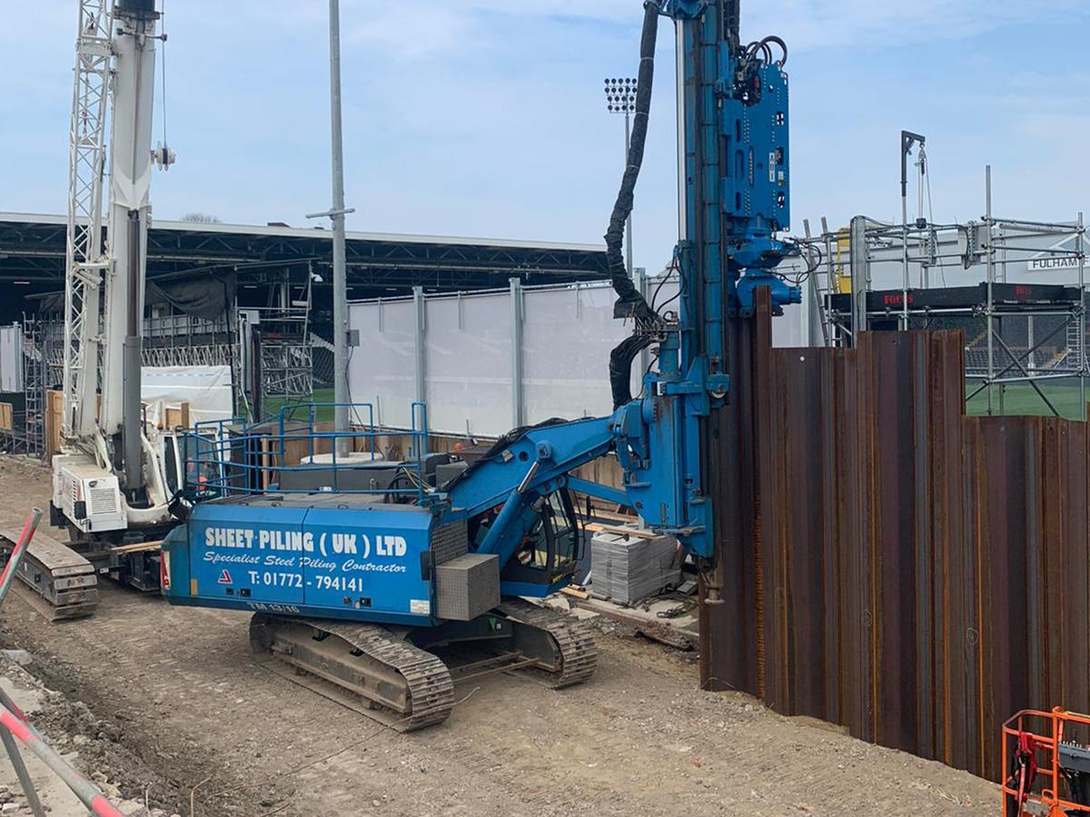 Groundwork Engineering at Football Stadium