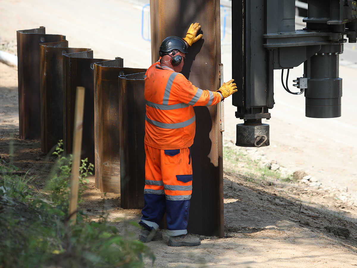 The UK's Leading Specialist Sheet Piling Contractor