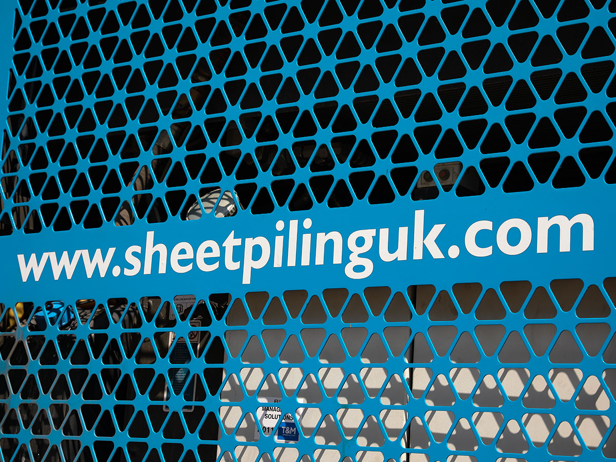 Specialist Sheet Piling Contractor